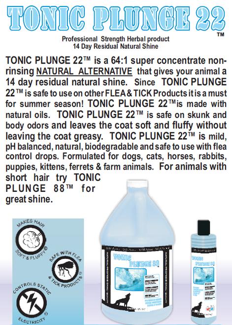 Tonic Plunge 22 Dip Quick Glance Info Sheet