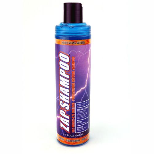 Kelco Zap Shampoo 11.7 oz. Size