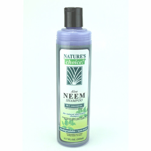 Aloe Neem Shampoo in 11.7 oz.