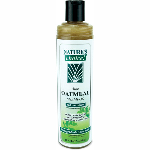 Aloe Oatmeal Shampoo in 11.7 oz size.