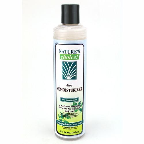 NaturesChoice® Aloe Remoisturizer in 11.7 oz size.