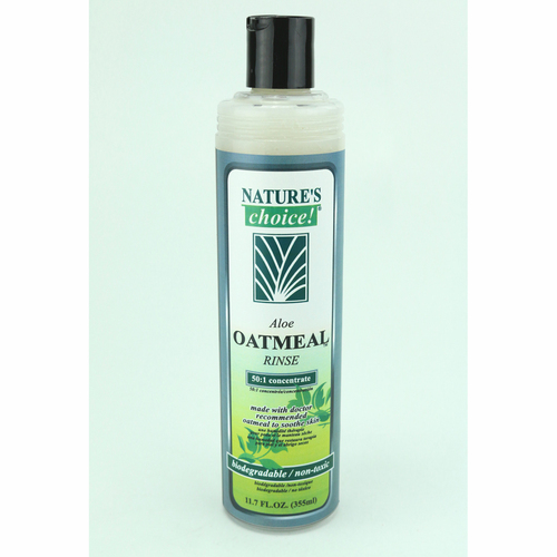 Nature's Choice Aloe Oatmeal Rinse Conditioner in 11.7 oz.
