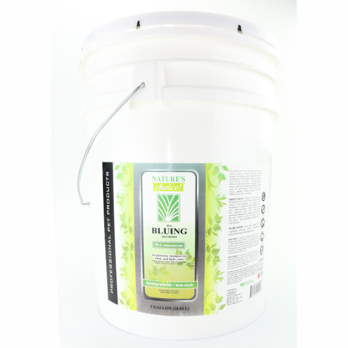 NaturesChoice® Aloe Bluing Shampoo 5 Gallon size.