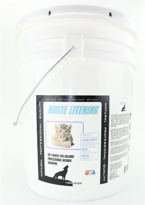 White Litening Shampoo 5 Gallon