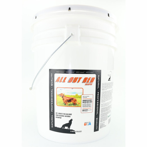 All Out Red 5 Gallon Size