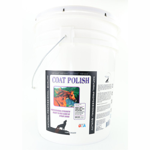 Wild Animal Coat Polish 5 Gallon Size