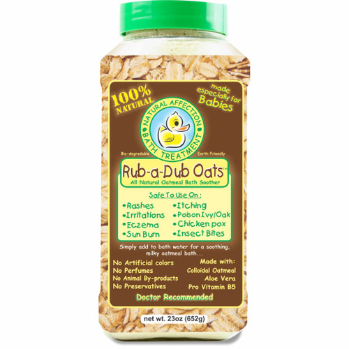 Rub A Dub Oats 23 oz. size
