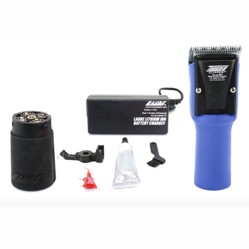Laube Thunder Blue Cordless Clipper Kit