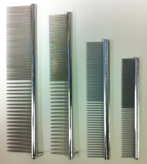 Laube metal finishing combs