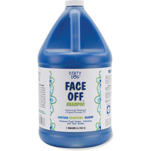 Dirty Dog Face Off in Gallon Size