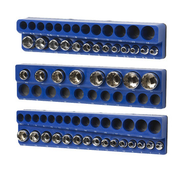 Magnetic Metric Socket Holder Set