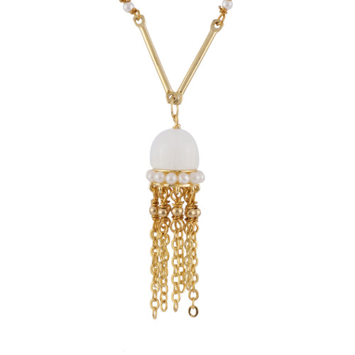42+5 Cm Atlantide Adorned Chain & Small Jellyfish Necklace | AFAT3081