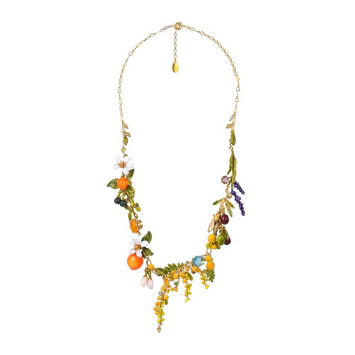 Multi Element Of Theé Provence Garden Collar  Necklace   ABJP3101