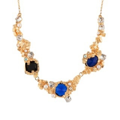 42+5 Cm Roches Singulieres Multi-Stones, Cubes And Crystals Necklace | AERO3011