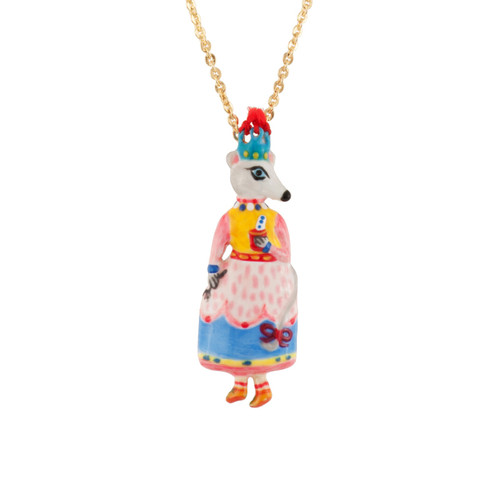 Birthday Mouse Mouse & Lemonade Drink Necklace | AEBM3031