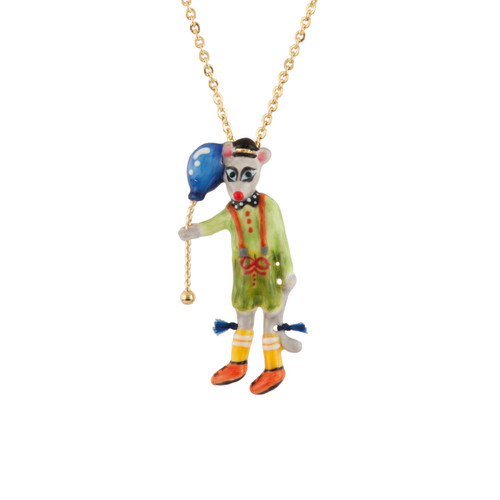 Birthday Mouse Mouse & Blue Balloon Necklace | AEBM3061