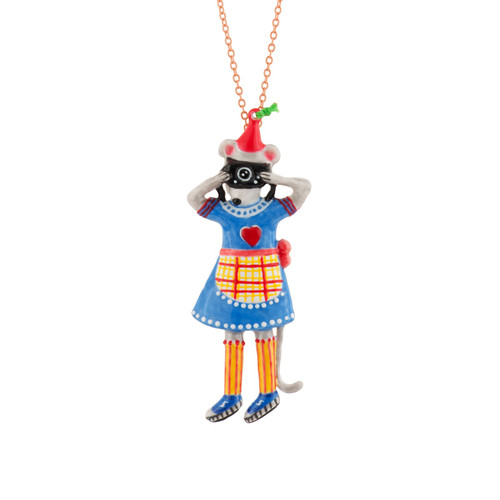 Birthday Mouse Mouse & Camera Necklace | AEBM3111