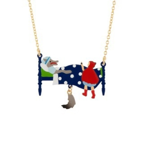 """Promenons Nous """"Grandmother, What Big Arms You Have"""" Necklace 