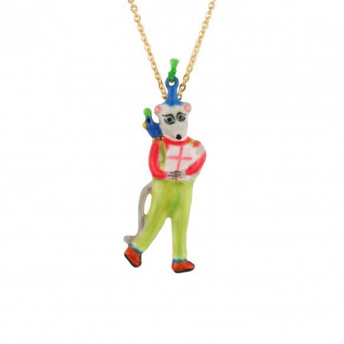 Birthday Mouse Mouse & Gift Necklace | AEBM3011