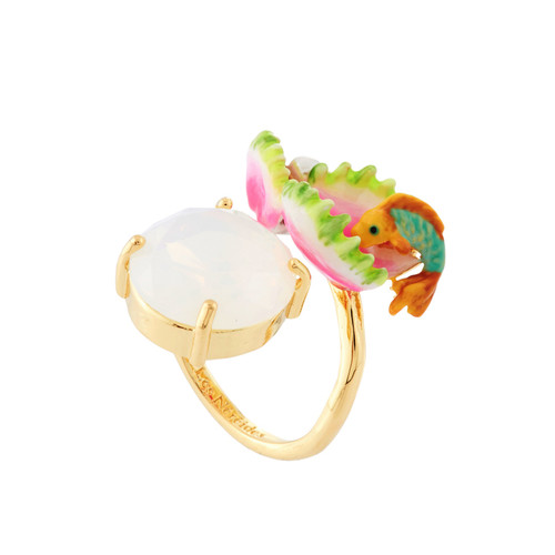 Fish, Sea Anemone And White Stone Exoplanète Rings | AHEP6061