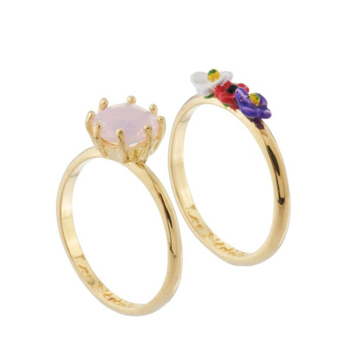 From Paris With Love Set of 2 Rings | AHFP6031