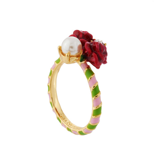 Roses And Pearl  Rings | AHPV605/1