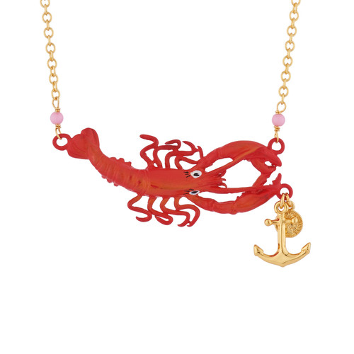 Under The Ocean Lobster Necklace   AISO3011