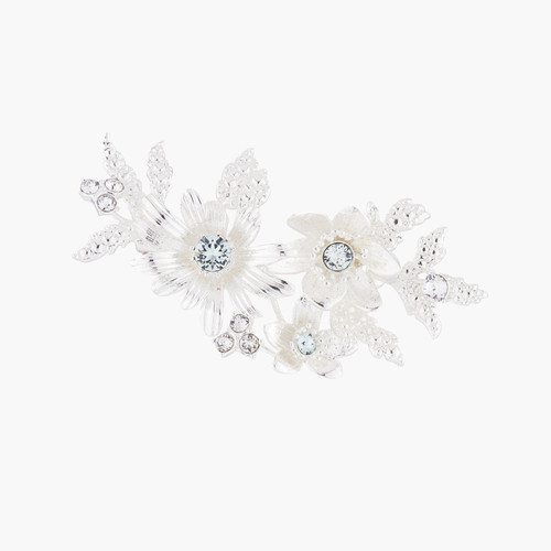 """Shining Bouquet With Crystals """"Yes, I Do"""" Brooch Brooch 