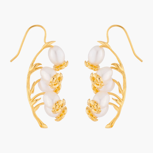 Lily Of Theé Valley Blossoms Earrings | ALFB1071