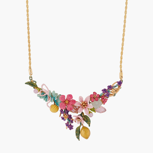 Summer Scents Bouquet Collar Necklace | ALPE3011