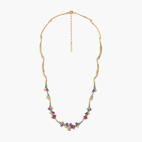 Sprigs Of Lavender Thin Necklace | ALPE3031