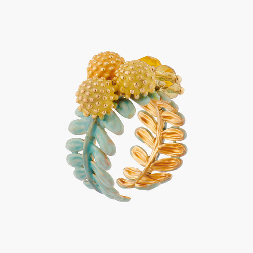 Mimosa Blossoms Adjustable Rings | ALPE6011