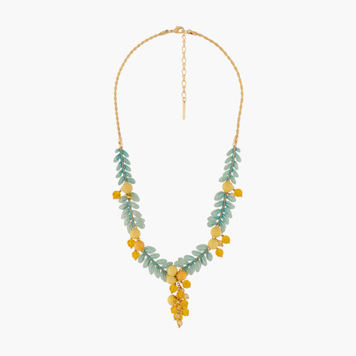 Mimosa Flowers Collar Necklace | ALPE3041