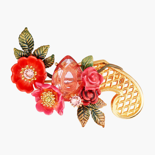 Antique And Wild Roses Brooch Accessories | AMAR5011