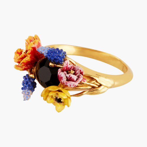 Winter Bouquet Cocktail Rings | AMBH601/11
