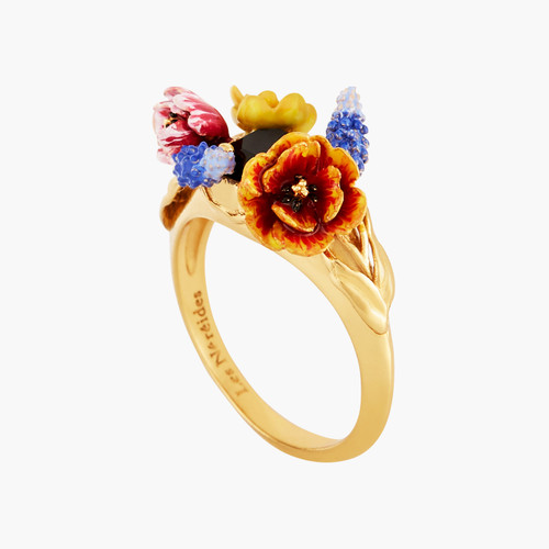 Winter Bouquet Cocktail Rings | AMBH601/1