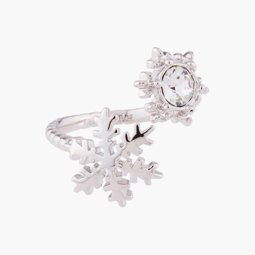 Snowflakes And Crystals Adjustable Rings   AMSC6022