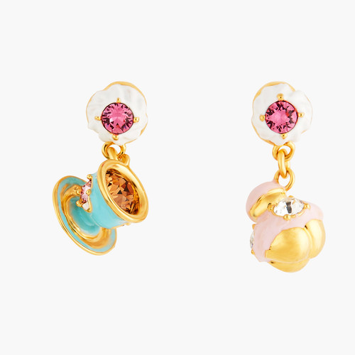 Religieuse And Tea Cup Earrings | ANIP1041