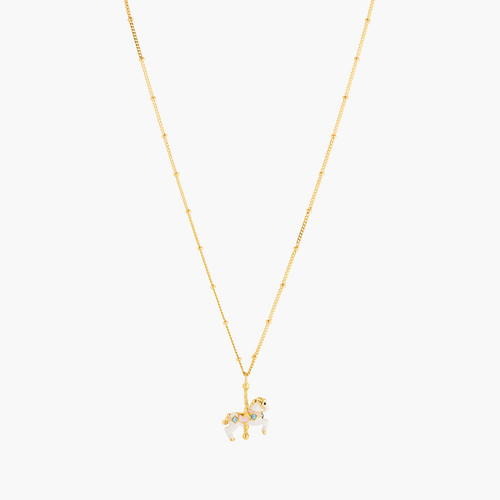 Carousel Horse Thin Necklace | ANIP3021