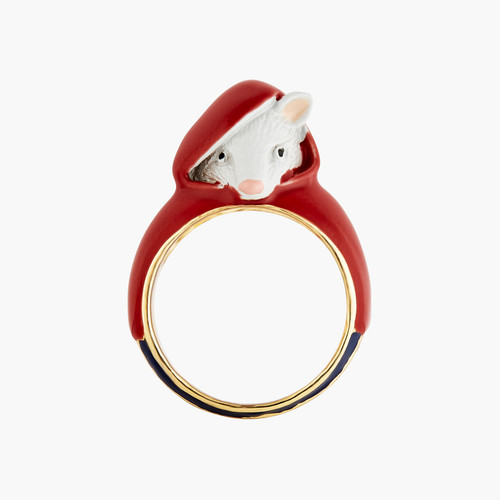 Little Mouse Little Red Riding Hood Rings | ANNA601/12