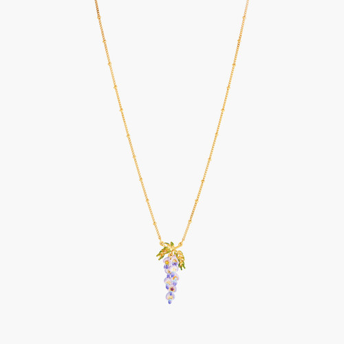 Wisteria And Foliage Necklace | ANOF3031