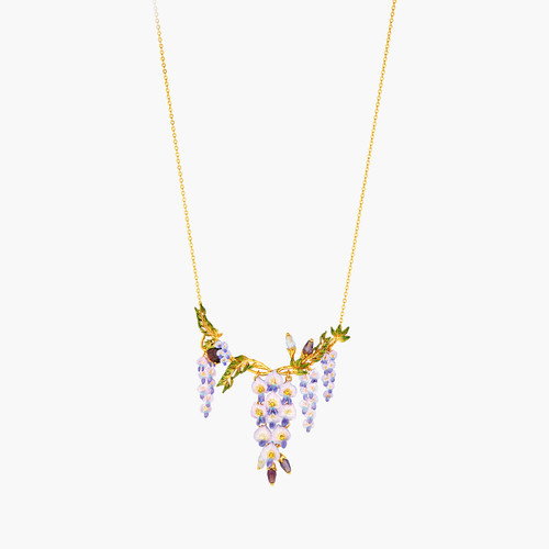 Shaded By Flowers Statement Necklace | ANOF3011