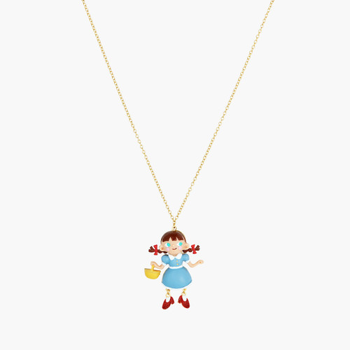 Theé Wizard Of Oz Dorothy Pendant Necklace | ANOZ3021