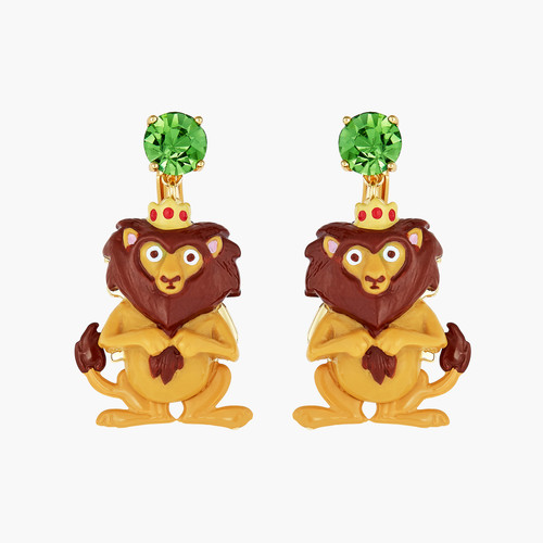 The Wizard Of Oz Cowardly Lion Earrings | ANOZ102/1