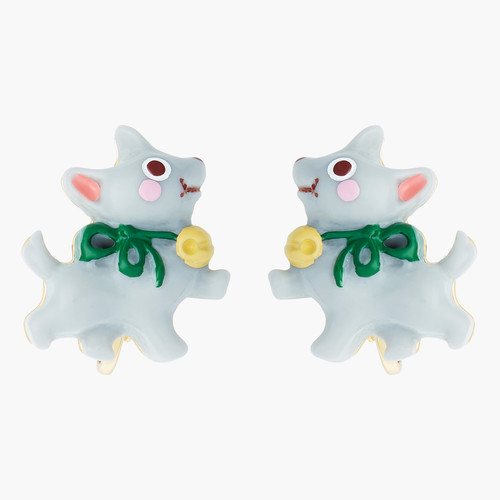 Theé Wizard Of Oz Toto Theé Dog Earrings | ANOZ105C/1