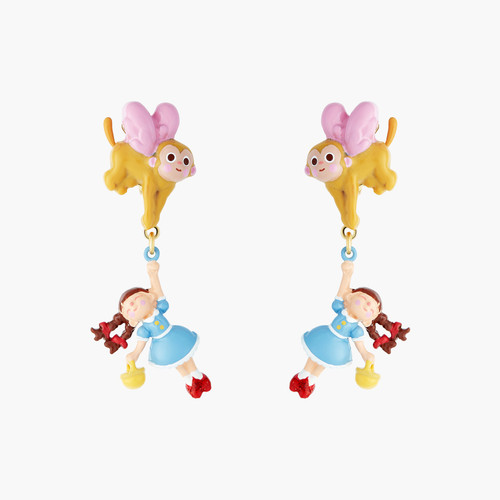 The Wizard Of Oz Dorothy And The Winged Monkey Earrings | ANOZ107/1