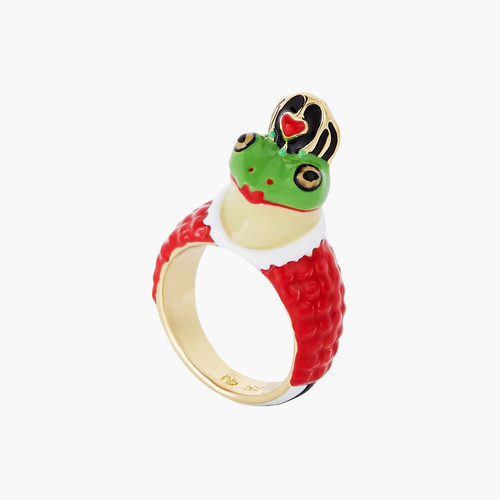 Alice in Wonderland Toad Red Queen ring | AONA6021