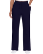 Ladies' Open Bottom Pocketed Sweatpant (Navy)
