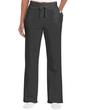 Ladies' Open Bottom Pocketed Sweatpant (Dark Heather)