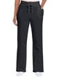 Ladies' Open Bottom Pocketed Sweatpant (Black)